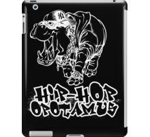 Hip Hop Opotamus (Inverted) iPad Case/Skin