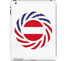 Austrian American Multinational Patriot Flag Series iPad Case/Skin