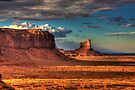 Dusk at Monument Valley by Bill Wetmore
