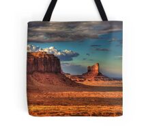Dusk at Monument Valley Tote Bag