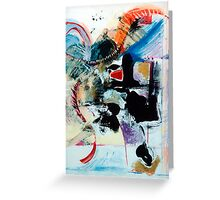 Transcendence ~ Abstract 92 Greeting Card