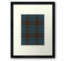 00339 Louth County District Tartan Framed Print