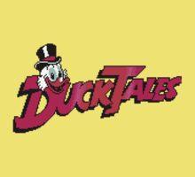 Pixel Ducktales Kids Tee