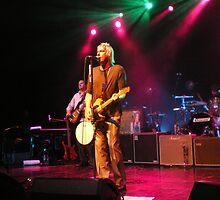 Paul Weller In Lights by Blaiseart