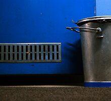 Blue Bunker by Etienne RUGGERI Artwork eRAW