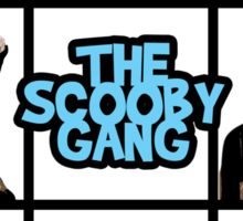 The Scooby Gang Sticker