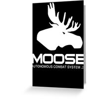 Project Moose prototype - Chappie Greeting Card