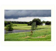 July Storms... Art Print
