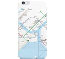 Istanbul metro map  iPhone Case/Skin