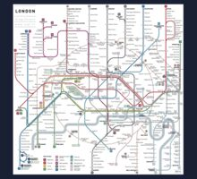 London tube map Kids Clothes