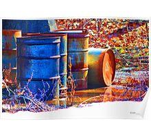 Old Barrels #2 Poster