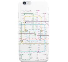 Beijing subway map iPhone Case/Skin