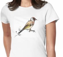 Goldfinch Womens Fitted T-Shirt