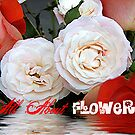 "All About Flowers ""Logo"" by Glenna Walker"