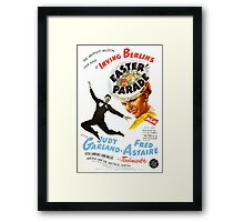 easter parade, irving berlin, judy garland, fred astair Framed Print