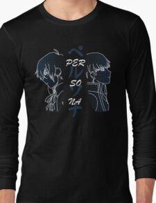 Persona MC 3 & 4 Long Sleeve T-Shirt