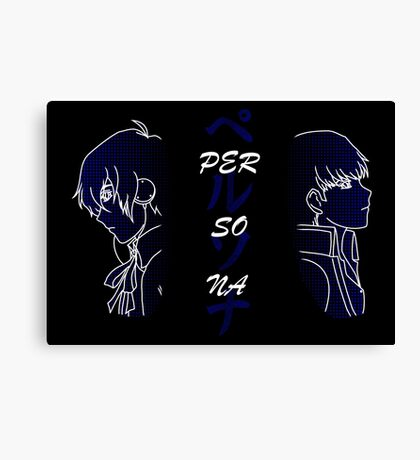 Persona MC 3 & 4 Canvas Print