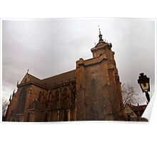 Colmar cathedral Poster