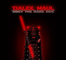 Dalek Maul by ToneCartoons