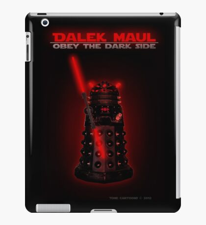 Dalek Maul iPad Case/Skin