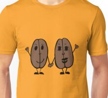 Mr and Mrs Coffee Bean Unisex T-Shirt