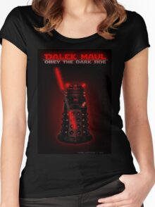 Dalek Maul Women's Fitted Scoop T-Shirt
