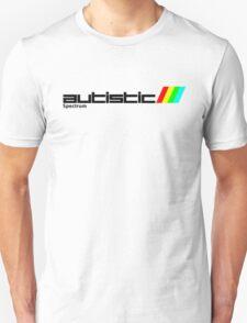 Autistic (ZX)Spectrum Unisex T-Shirt