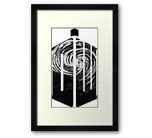 Doctor Who - Swirly Framed Print