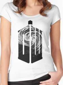 Doctor Who - Swirly Women's Fitted Scoop T-Shirt