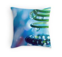 Water and Spring III. Throw Pillow
