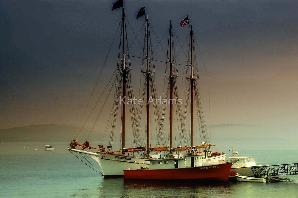 Dusk -  Maine by Kate Adams