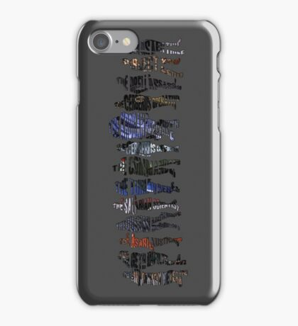 Shepard and the Squad iPhone Case/Skin