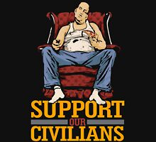 Support Our Civilians Mens V-Neck T-Shirt