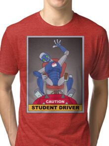 student driver Tri-blend T-Shirt