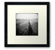 emptiness of timeless Framed Print