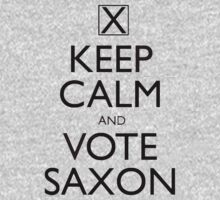 Keep Calm and Vote Saxon One Piece - Long Sleeve