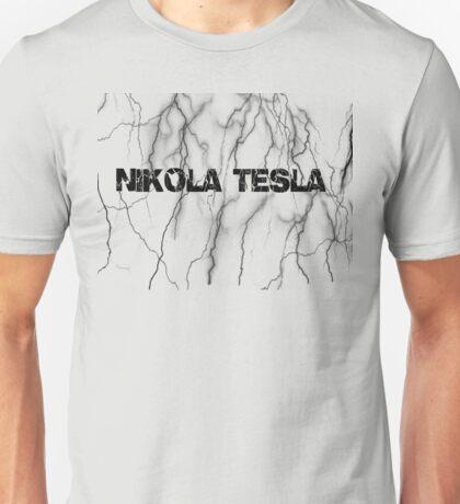 Tesla lightning Unisex T-Shirt