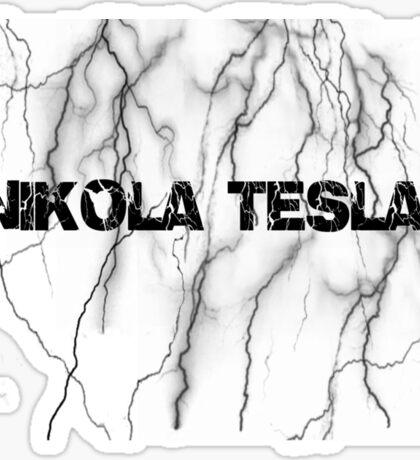 Tesla lightning Sticker