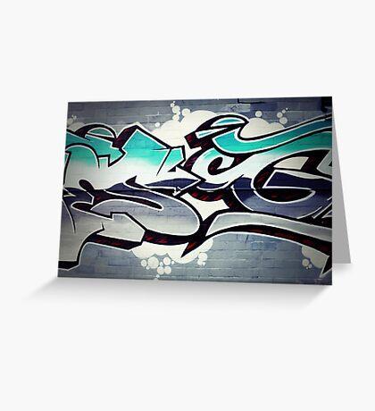 Graffiti 18 Greeting Card