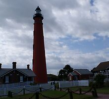 Ponce Inlet Lighthouse by Helen Kington