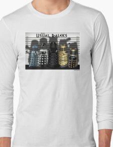 The Usual Daleks Long Sleeve T-Shirt