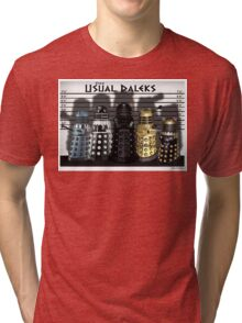 The Usual Daleks Tri-blend T-Shirt