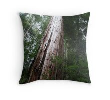 That's one big tree Throw Pillow
