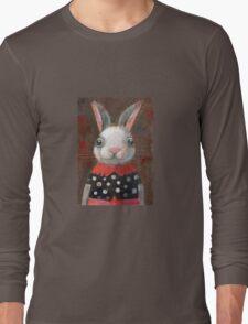 White Rabbit Girl Long Sleeve T-Shirt