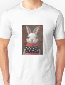 White Rabbit Girl Unisex T-Shirt