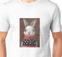White Rabbit Girl Unisex T-Shirt