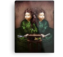 The hair affair Metal Print