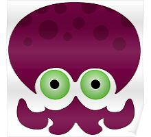 Splatoon - Octopus Logo Poster