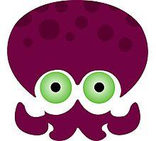 Splatoon - Octopus Logo Photographic Print