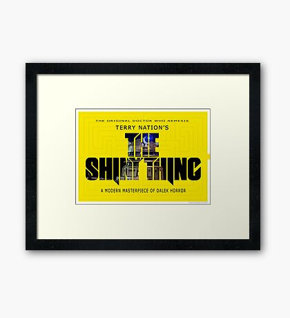 The Shiny Thing Framed Print
